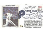 Joe Morgan Autographed / Signed 1983 World Series Fist Day Cover