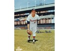 Warren Spahn Autographed / Signed Milwaukee Braves Baseball 8x10 Photo