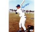 Willie Mays Autographed 8x10 Photo PSA/DNA #Q88168
