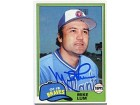 Mike Lum Autographed/Signed 1981 Topps Card
