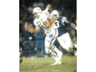 Jim Kiick signed Miami Dolphins 16x20 Photo dual 1972 Perfect Season & 17-0