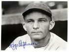 Riggs Stephenson Autographed / Signed Black & White Chicago Cubs Baseball 8x10 Photo