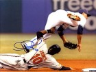 Adam Jones Autographed / Signed Sliding Into Second 8x10 Photo