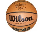 David Robinson signed NCAA Indoor/Outdoor Basketball (Navy Midshipmen)- JSA Hologram