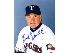 Buck Showalter Autographed / Signed 8x10 Photo