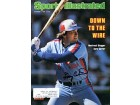 Gary Carter Autographed / Signed Sports Illustrated - October 6 1980