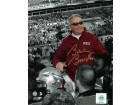Bobby Bowden signed Florida State Seminoles 16x20 Photo Final Game Carryoff Spotlight - JSA Hologram