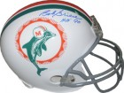 Bob Griese signed Miami Dolphins TB Full Size Replica Helmet HOF 90