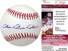 Choo Choo Coleman Autographed / Signed Baseball (James Spence)