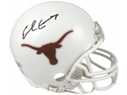 Earl Campbell signed Texas Longhorns Replica Mini Helmet (Heisman)-Tri-Star Hologram