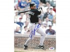 Ivan Rodriguez Autographed 8x10 Photo Marlins PSA/DNA #Q94758