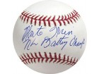 Monte Irvin NL Batting Champ Autographed / Signed Baseball