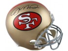 Joe Montana signed San Francisco 49ers Full Size Proline TB Helmet- JSA Hologram