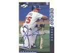 Andruw Jones Atlanta Braves Autographed / Signed 1997 Score Card #1