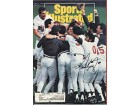 Tom Kelly Autographed/Signed Sports Illustrated November 4 1991