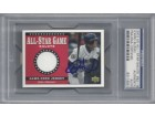 Ichiro Suzuki Autographed 2002 Upper Deck All Star Salute Game Used Jersey Card #SJ-IS Seattle Mariners PSA/DNA #83118051