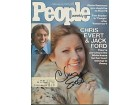 Chris Evert Autographed/Signed February 16 1976 People Magazine
