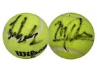 Jensen Brothers Autographed / Signed Tennis Ball