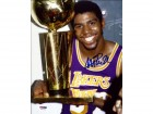 Magic Johnson Autographed 8x10 Photo Los Angeles Lakers PSA/DNA Stock #32275