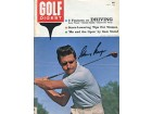 Gary Player Autographed / Signed Golf Digest - July 1962