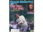 Andy North Autographed / Signed Sports Illustrated - June 24 1985
