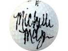 Michelle McGann Autographed / Signed Golf Ball