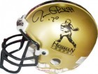 Jim Plunkett signed Gold Authentic Heisman Mini Helmet '70 (Stanford Cardinal)