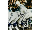 Earl Morrall signed Baltimore Colts 8X10 Photo #15 (under center)