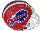 James Lofton signed Buffalo Bills Replica Mini Helmet HOF 03 (silver sig)