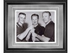 Roger Maris Whitey Ford and Mickey Mantle Framed 8x10 Photo