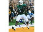 Kendall Wright signed Baylor Bears 8x10 Photo #1 (green jersey TD)