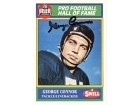 George Connor Signed '90 Swell Pro Football Hall of Fame Card #83