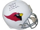 Dan Dierdorf signed St. Louis Cardinals Full Size Replica TB Helmet 3 stat HOF 96/6X Pro Bowl/5X 1st Time All Pro
