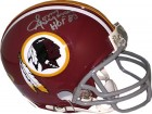 Sonny Jurgensen signed Washington Redskins Riddell TB Mini Helmet #13 HOF '83 (Gray Mask)