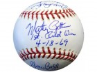 1969 Autographed Official MLB Baseball Seattle Pilots With 15 Signatures Including Jim Bouton PSA/DNA Stock #2331
