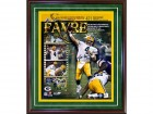 Brett Favre Autographed / Signed Framed 421 Touchdowns 16x20 Photo
