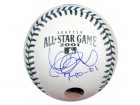 "Ichiro Suzuki Autographed Official 2001 All-Star Baseball Seattle Mariners ""7-10-01"" IS Holo Stock #17964"