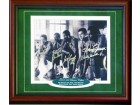 1968-1969 Boston Celtics Autographed / Signed Framed Starting Five 8x10 Photo