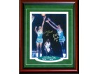 Bill Russell & Satch Sanders Autographed / Signed Framed 8x10 Photo