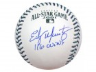 "Edgar Martinez Autographed Official 2001 All-Star Baseball Seattle Mariners ""116 Wins"" PSA/DNA Stock #17458"