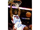 Udonis Haslem Autographed/Signed World Champs 8x10 Photo