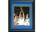 2010-2011 Dallas Mavericks Unsigned Framed Celebration 8x10 Photo