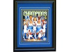2010-2011 Dallas Mavericks Unsigned Framed NBA Champions Collage 8x10 Photo