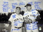 1962 & 1969 New York Mets Autographed 16x20 Photo With 42 Signatures Including Nolan Ryan & Tom Seaver PSA/DNA Stock #14461