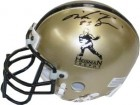 Mike Rozier signed Heisman Gold Authentic Mini Helmet 83 (Nebraska Cornhuskers)