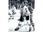 John Bucyk Autographed 8x10 Photo Bruins PSA/DNA #P44286