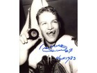 Bobby Hull HOF 1983 Autographed / Signed 50th Goal 8x10 Photo