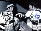 Ed Johnston & Rick Smith Autographed / Signed 8x10 Photo