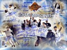 1996 World Series Champion New York Yankees Autographed 16x20 Photo With 27 Signatures Including Wade Boggs PSA/DNA Stock #10783