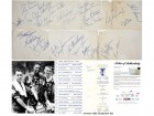 1963 NBA All Star Signed - Autographed Collection which includes Wilt Chamberlain, Bill Russell, Red Auerbach and 23 more - PSA/DNA Full Letter of Authenticity